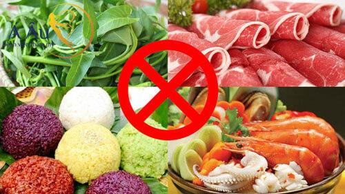 Tuyệt đối không ăn những thực phẩm khiến mũi mưng mủ