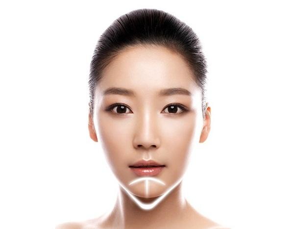 Độn cằm không để lại sẹo vì vết cắt được thực hiện ở bên trong khoang miệng
