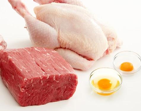 Không nên ăn các món ăn chế biến từ thịt gà và trứng gà sau khi