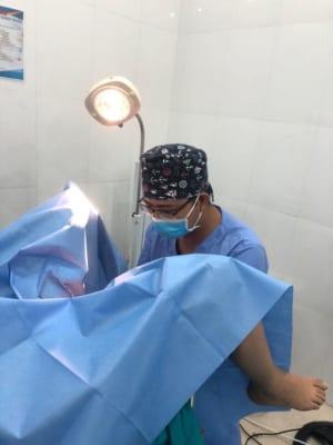 Phẫu thuật thẩm mỹ cô bé tại Hải Phòng diễn ra nhanh chóng, an toàn