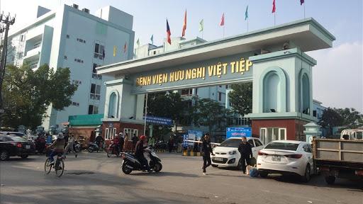 cổng bệnh viện huxu nghị việt tiệp hải phòng