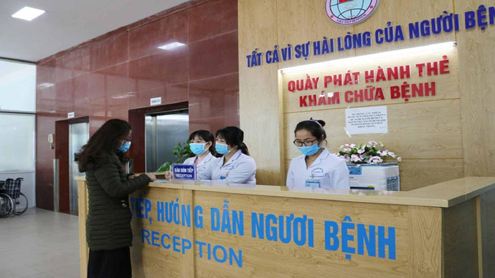 Trung bình mỗi năm bệnh viện khám bệnh cho hơn 200.000 bệnh nhân