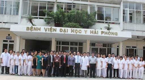 Bệnh viện Đại học Y Hải phòng thuộc tuyến tỉnh được thành lập từ năm 2007.