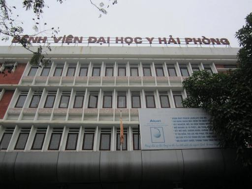 Bệnh viện ĐH Y Hải Phòng là địa chỉ khám chữa bệnh uy tín, chất lượng.
